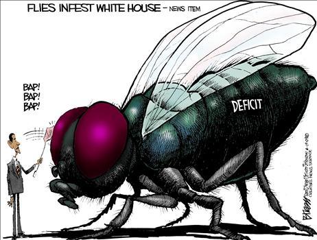Real Americans Defend Israel: Creepy: flies love Obama