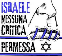 israele, nessuna critica permessa