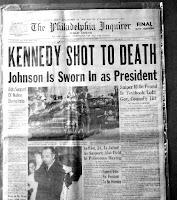 kennedy, attentato, giornale