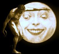 discobolo, luna
