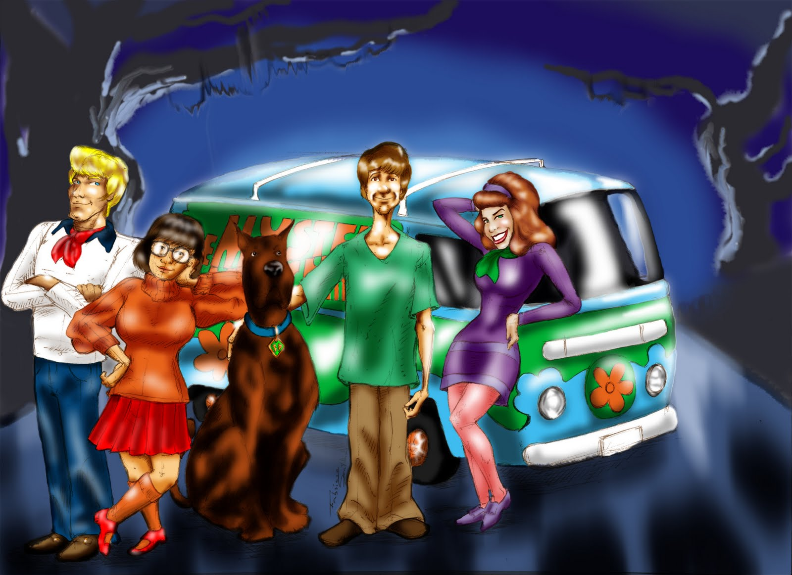 Scooby Doo Colorido