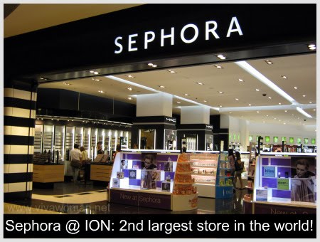 Marvelous Unlimited Goodies: SEPHORA @ ION, Orchard ...