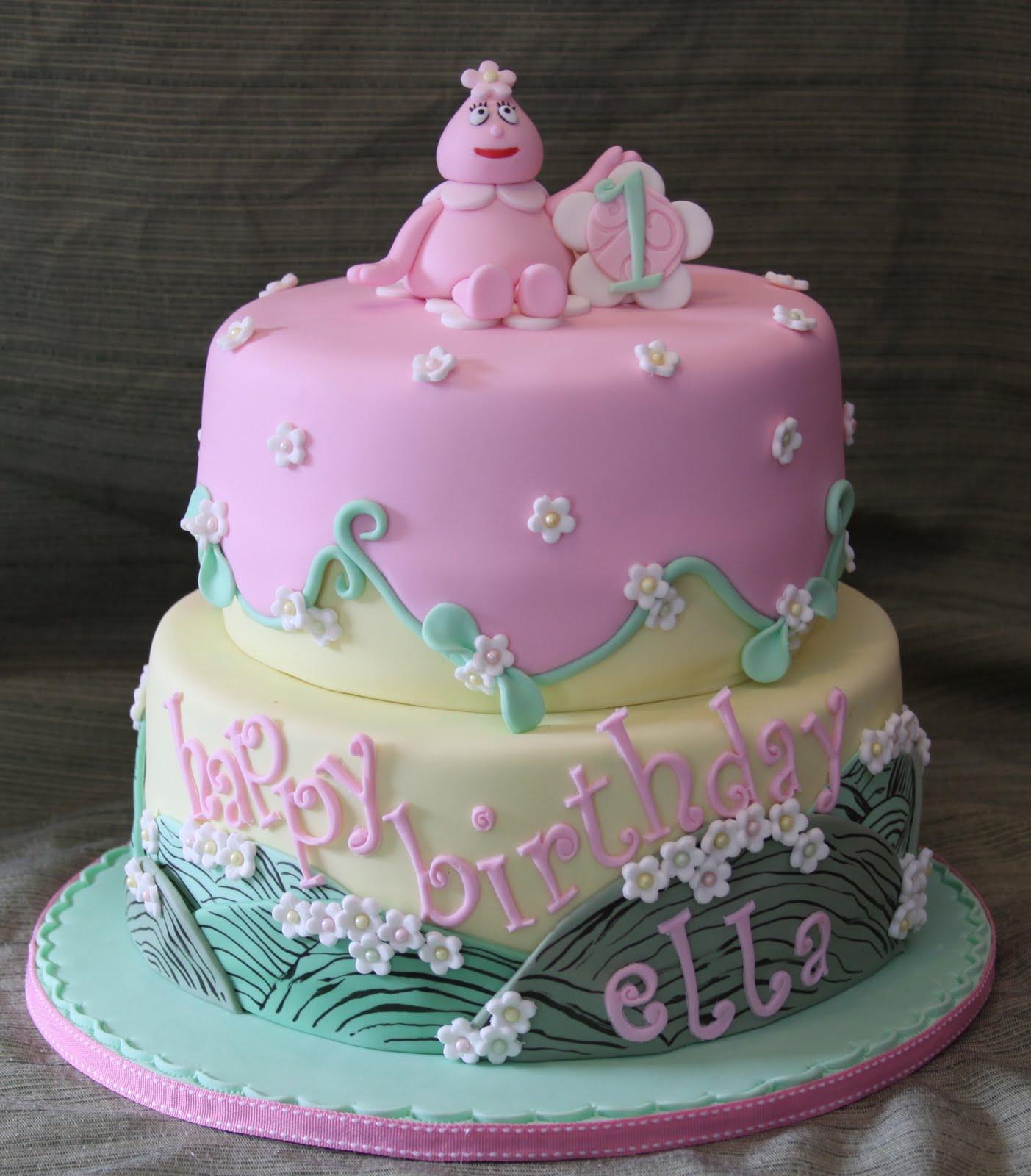 Yo Gabba Gabba Foofa Cake