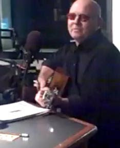 Ronnie Montrose jams with Greg Kihn, LIVE on air at 98 5