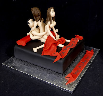 Funny adult birthday cake