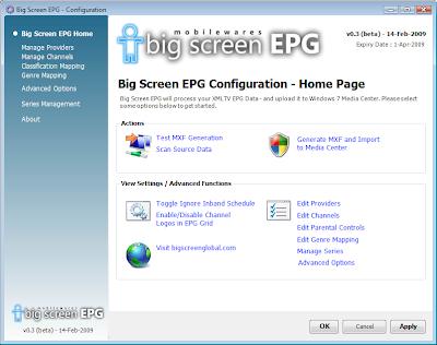 Windows 7 Media Center XMLTV EPG | JaLooNz the Webbie