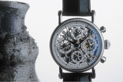 Chronoswiss Opus - The First Serially Produced Automatic Skeleton Chronograph