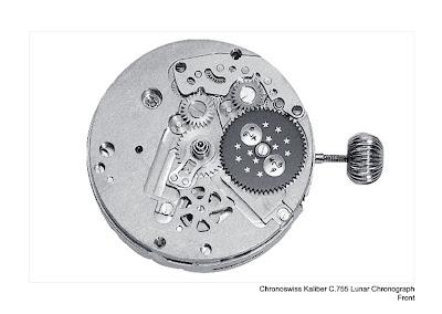 Chronoswiss LUNAR Chronograph movement