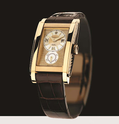 Rolex Cellini Prince Collection, Edition 2005 - The Rolex Watch with Sapphire Crystal Case Back