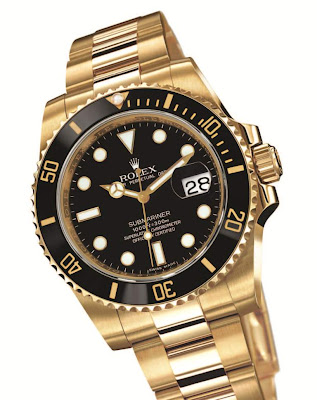 Rolex Oyster Perpetual Submariner Date, Yellow Gold (116618)