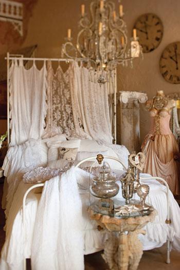 Western Inspired Room Love The Headboard With Old Doors: Shabby Chic Ireland: Romantic Shabby Chic
