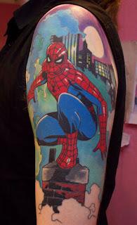f8cb55e60 Big Arm Spiderman Tattoo kabol tattoos