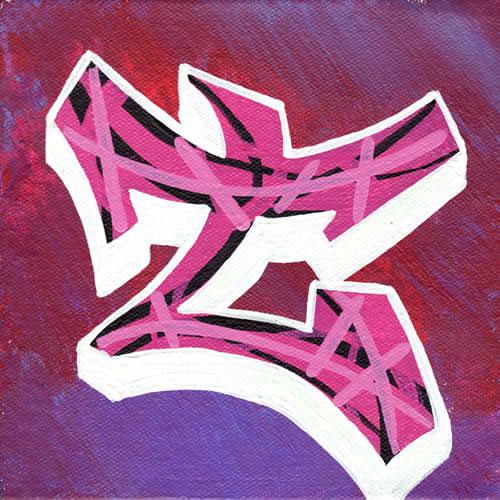 distortclut: Graffiti Alphabet Sketches Letter T