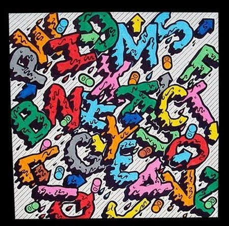 distortclut: Graffiti Alphabet A-Z Bubble with full color