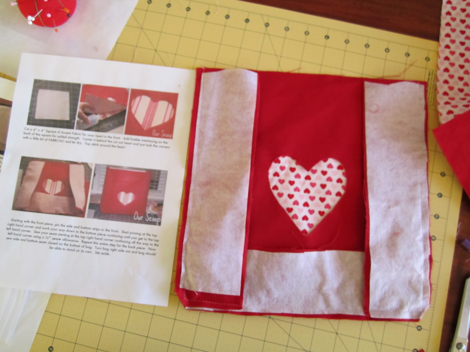 See Rebecca Sew Sewing Project Valentine S Day Chair Backers
