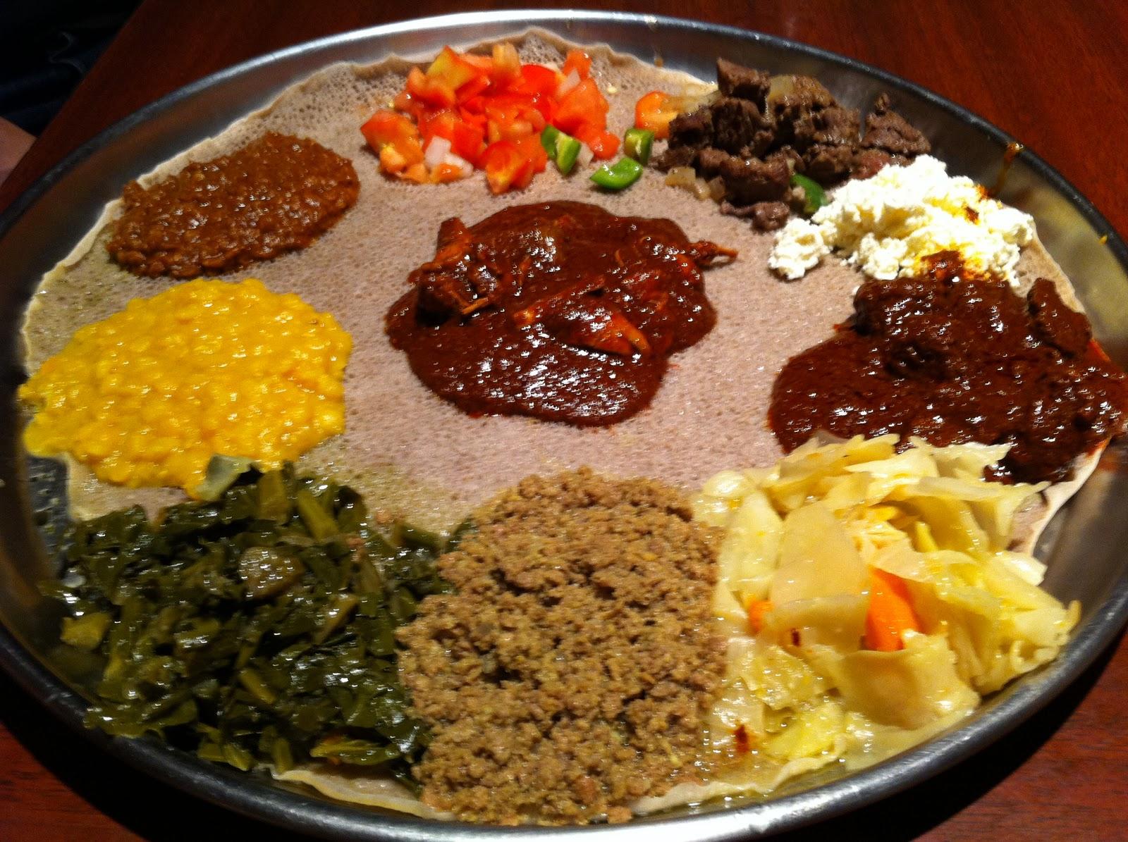 Wandering Chopsticks Dc Ethiopian Food At Dukem