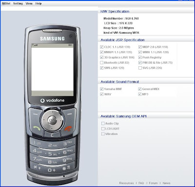 java uploader samsung e250
