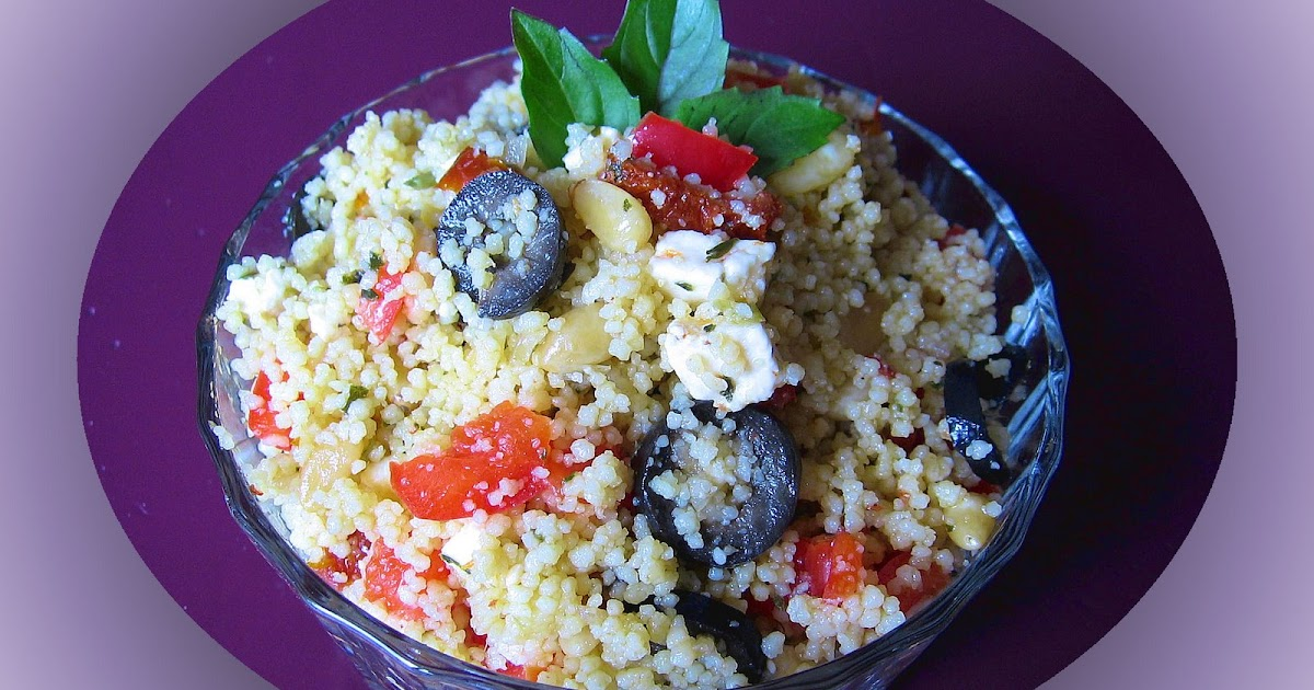 le coin recettes de jos salade de couscous au pesto et tomates s ch es. Black Bedroom Furniture Sets. Home Design Ideas