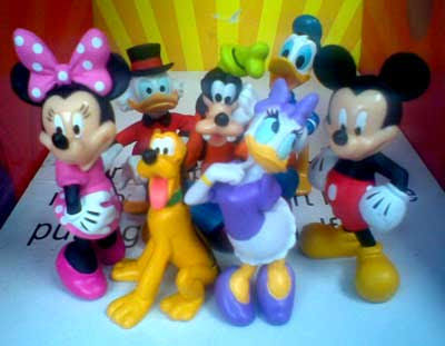 Mickey and Friend Figure