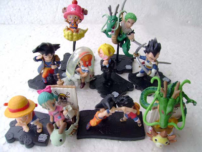 One Piece Weekly Jump isi 10 Figure