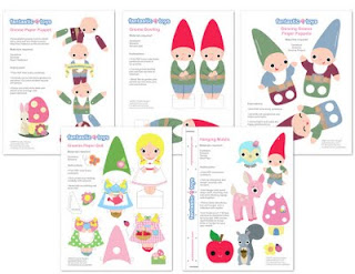 Image: Free Set of Paper Toys