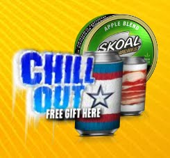 FREE Skoal Can Cooler...