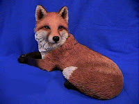 Sandicast Fox Figurine