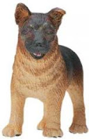 german shepherd puppy toy miniature
