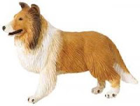collie toy miniature