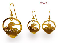loon earrings