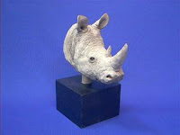 sandicast rhino figurine