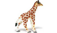 baby giraffe toy miniature