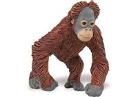 baby orangutan toy miniature