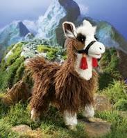 llama puppet folkmanis