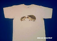 hedgehog t shirt