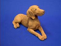 sandicast vizsla figurine