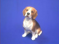 beagle figurine sandicast original