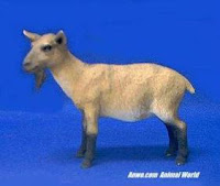 brown goat figurine statue