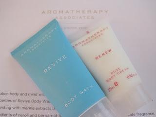 romatherapy Associates Revive Body Wash & Renew Rose Body Cream