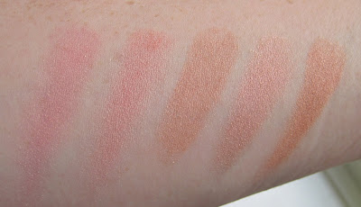 Nars Orgasm Comparison Swatches