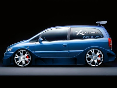 dejo design tuning opel zafira extreme concept by ddtuning. Black Bedroom Furniture Sets. Home Design Ideas