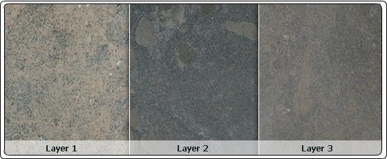 The Color And Grain Of Limestone Extracted In Each Layer Differs According To Depth As You Can See Photo Below From Azul