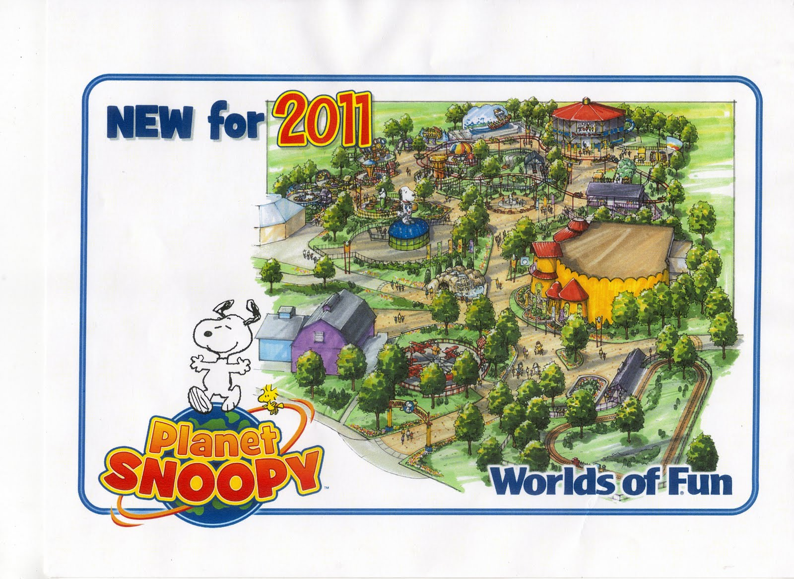 Worlds Of Fun Org New For 2011