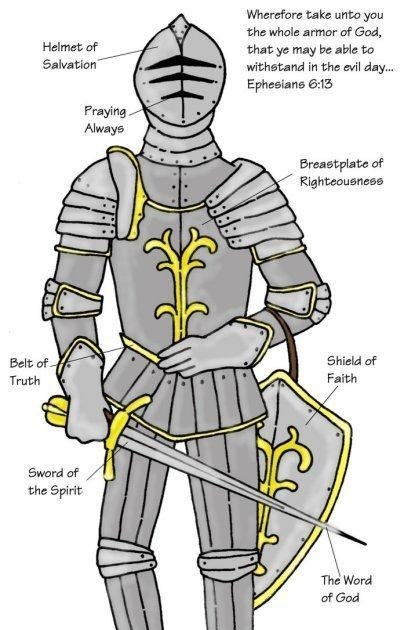 Becoming Lds Fhe Armor Of God