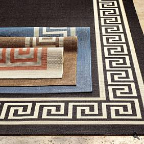 Am Waiting For A Smaller Version Of The C Creme Rug To Arrive Which Will Be Going On My Enclosed Porch They Are Now Clearanced Priced At Frontgate