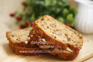 Dailydelicious Date Nut Bread With Cream Cheese The Best