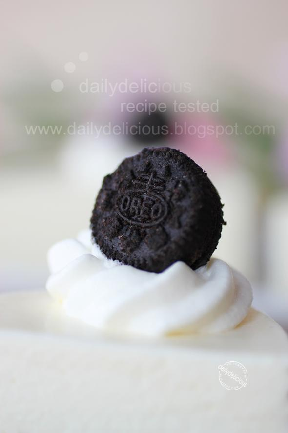 Oreo Cake Filling Without Cream Cheese
