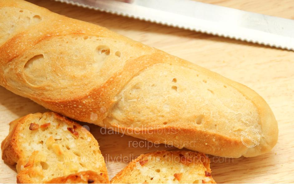 dailydelicious thai: Easy French Bread ?: I like to take it easy!!!
