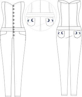 Moda Com Ká Martins: Desenho Técnico