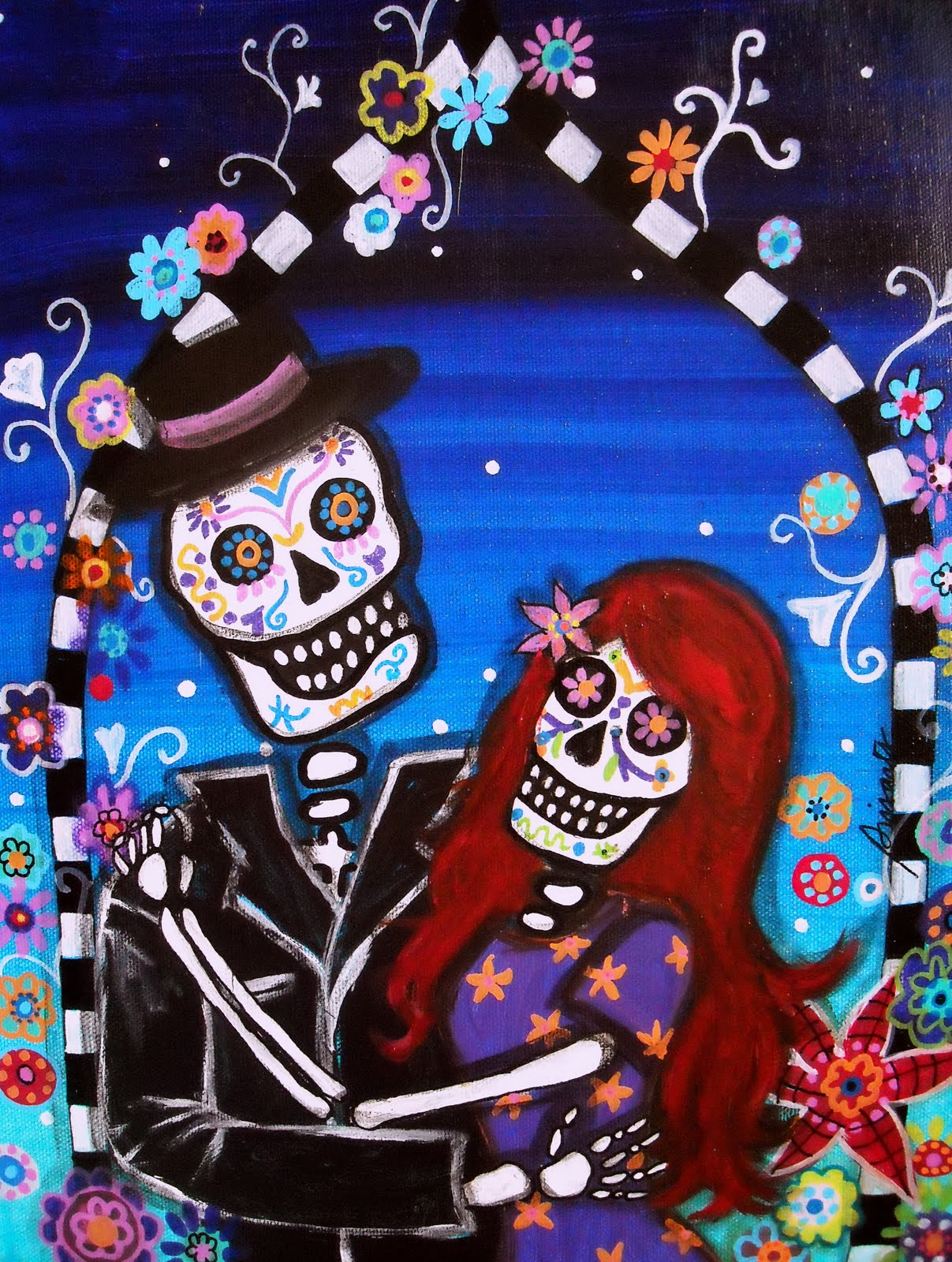 Dia De Los Muertos The Wedding